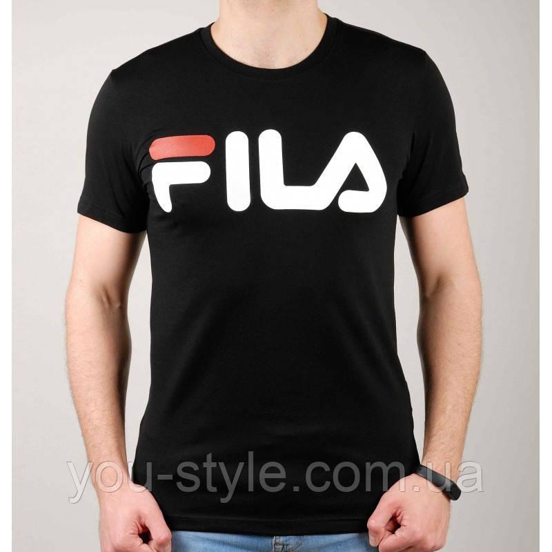 Чоловіча футболка Fila 5106 Чорна