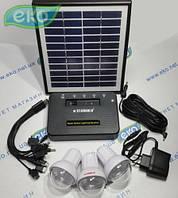 Портативная солнечная система освещения SG-3006