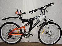 Велосипед Двухамортизационный с дисковым тормозом AVALON