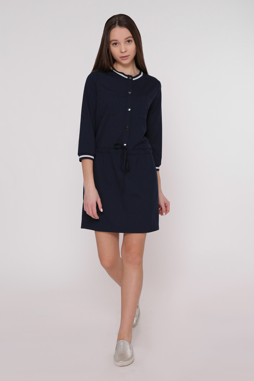 Платье женское Татьяна Филатова модель 200 синее
