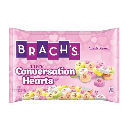 Конфеты Brach's Tiny Conversatiom Hearts