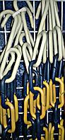 Цепь торговая пластиковая толстая синяя жёлтая