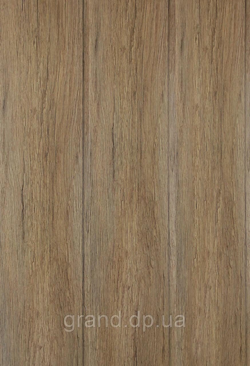 Стеновая Панель МДФ Коллекция Стандарт 148мм*5,5мм*2600мм цвет дуб викинг