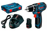 Шуруповерт Bosch GSR 10,8-2-LI L-BOXX