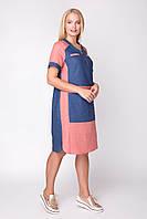Платье женское льняное АР Дарья 50-60 размеры