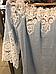 Туника женская лен голубая с макраме Suavite 10119, фото 5