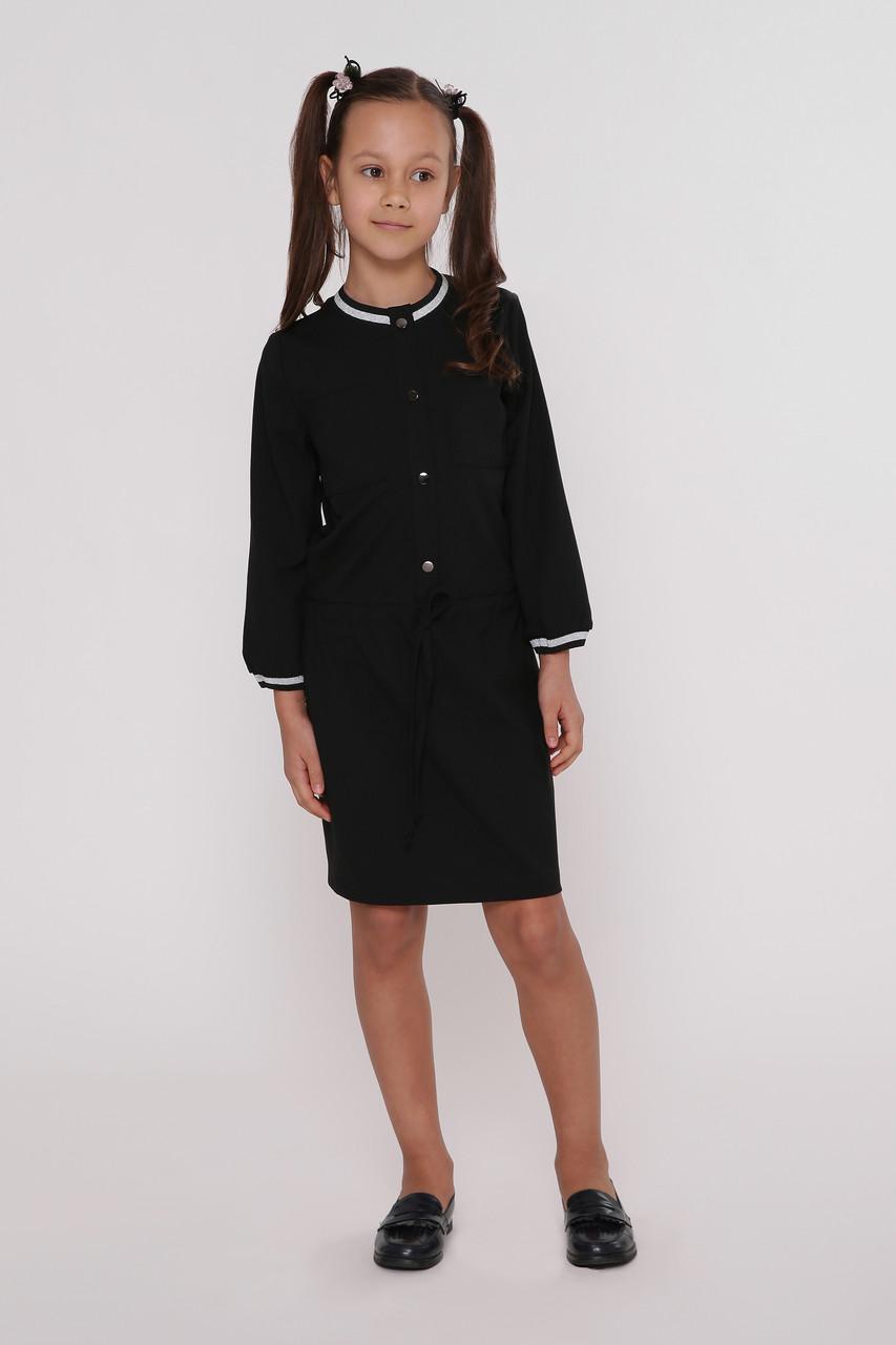 Платье детское  Татьяна Филатова модель 200 черное