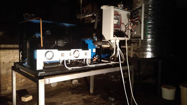 Чиллеры для охлаждения воды мощностью 5 кВт. и 33 кВт. 8