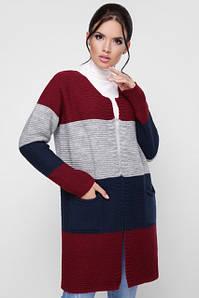 В'язані кардигани, светри, шалі розміри 42-50
