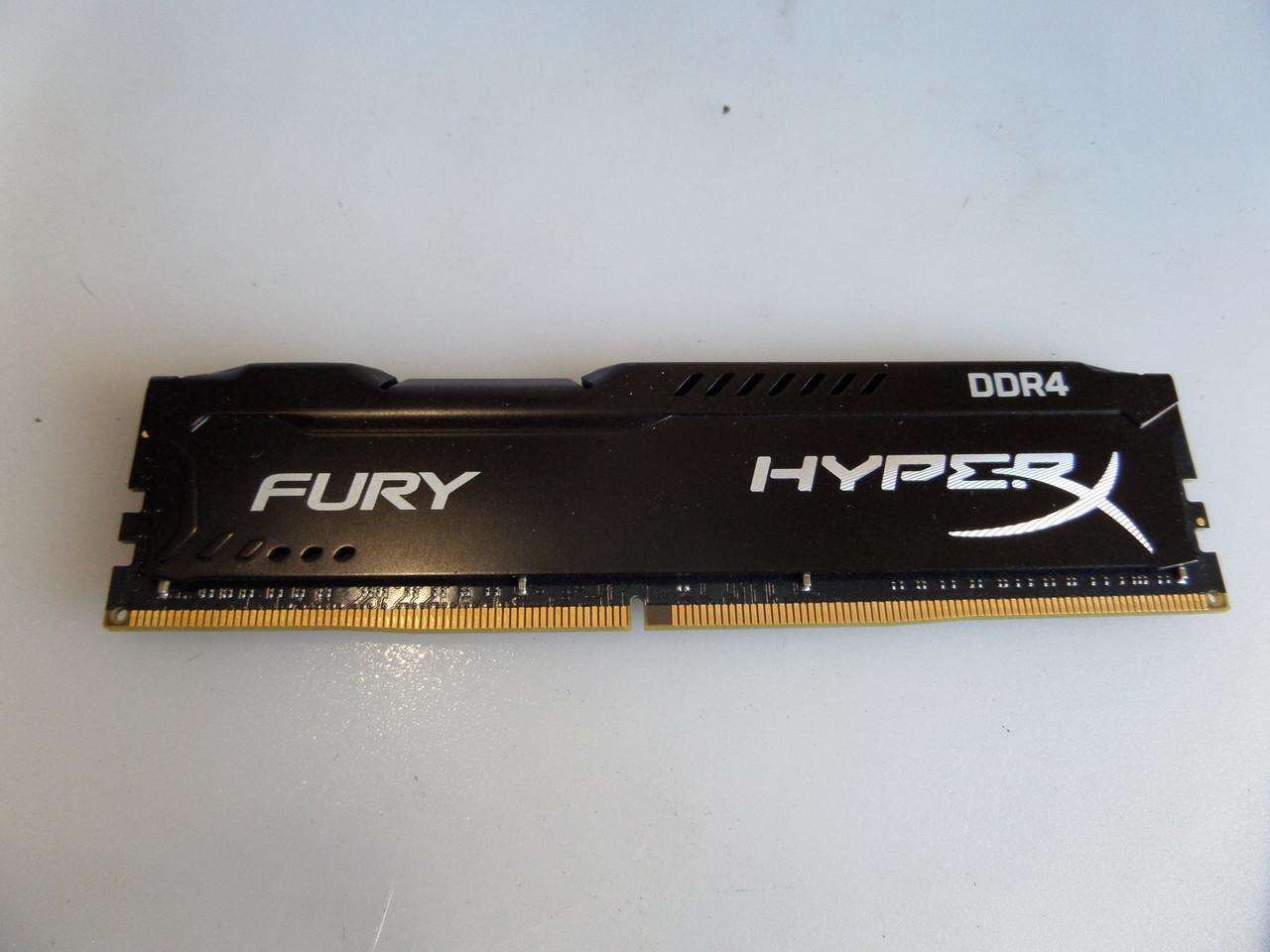 Память Kingston HyperX Fury 16GB DDR4 PC4-24000 2400Mhz CL15