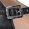 Туфли женские MOLKA (кожаные, черные, элегантные, на устойчивом каблуке), фото 7