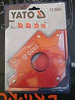 Уголок магнитный PROFI для сварки YATO YT-0865