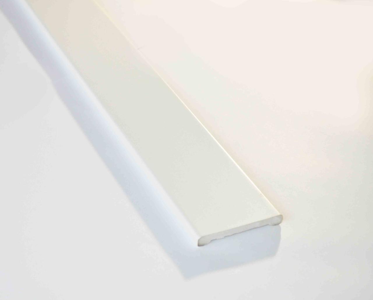 Наличник пластиковый Plint 70х2200 мм белый