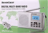 Цифровой радиоприемник Silver Crest FM/MW + Наушники