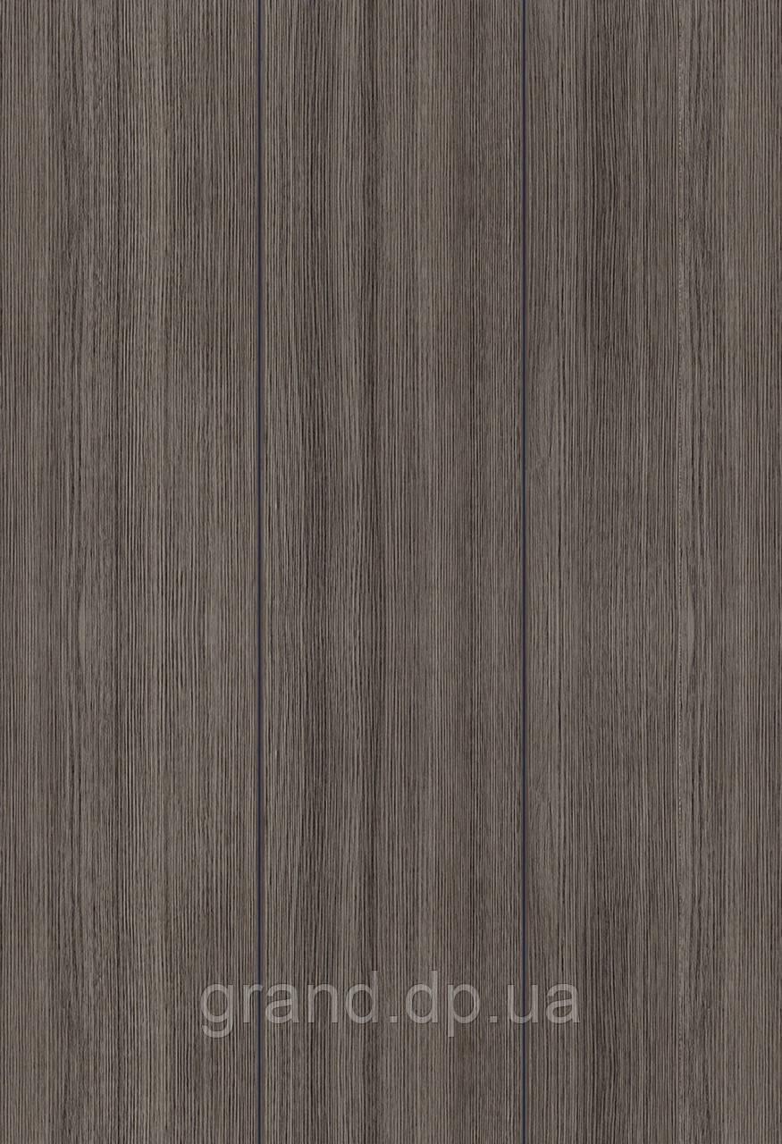 Стеновая Панель МДФ Коллекция Триумф в ПВХ пленке 238мм*5,5мм*2600мм цвет дуб ЭШ