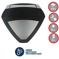 LED світильник на сонячній батареї 1W з датчиком день/ніч VS-318, фото 1