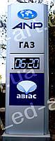Светодиодное табло для  АЗС LED-ART-Stela-250-14+, ценовой модуль для АЗС