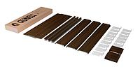 Откосная система Qunell темный дуб К400 1.5-1.5 (откосы Кюнель), фото 1