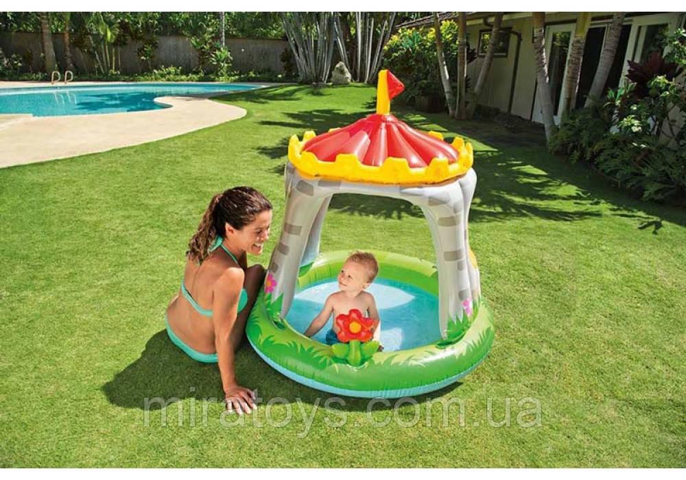 "✅Дитячий надувний басейн ""Замок"", Intex (Интекс) 57122"