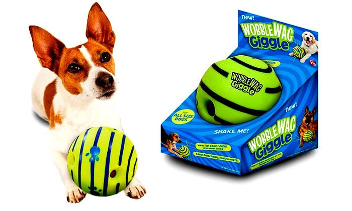 Игрушка - мяч для собак Wobble Wag Giggle (хихикающий)