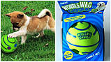 Игрушка - мяч для собак Wobble Wag Giggle (хихикающий), фото 2