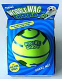 Игрушка - мяч для собак Wobble Wag Giggle (хихикающий), фото 3