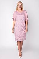 Платье женское нарядное в 3х цветах АР Джамала 50-60 размеры