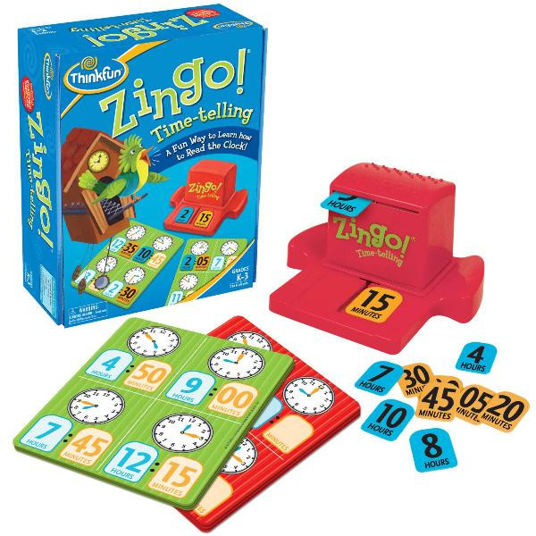 Игра Зинго Время | ThinkFun Zingo Time-Telling 7705