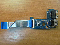 Плата разъемов USB LAN Lenovo B570E