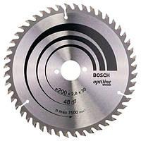 Циркулярный диск BOSCH OPTILINE 200x30 48 2608640620