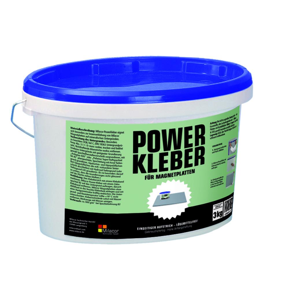 Клей для магнитных плит Milacor Powerkleber 3 кг