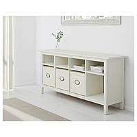 IKEA HEMNES Скамья, белое пятно  (002.518.14)