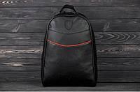 Рюкзак в стиле Ferrari black чёрный мужской, фото 1