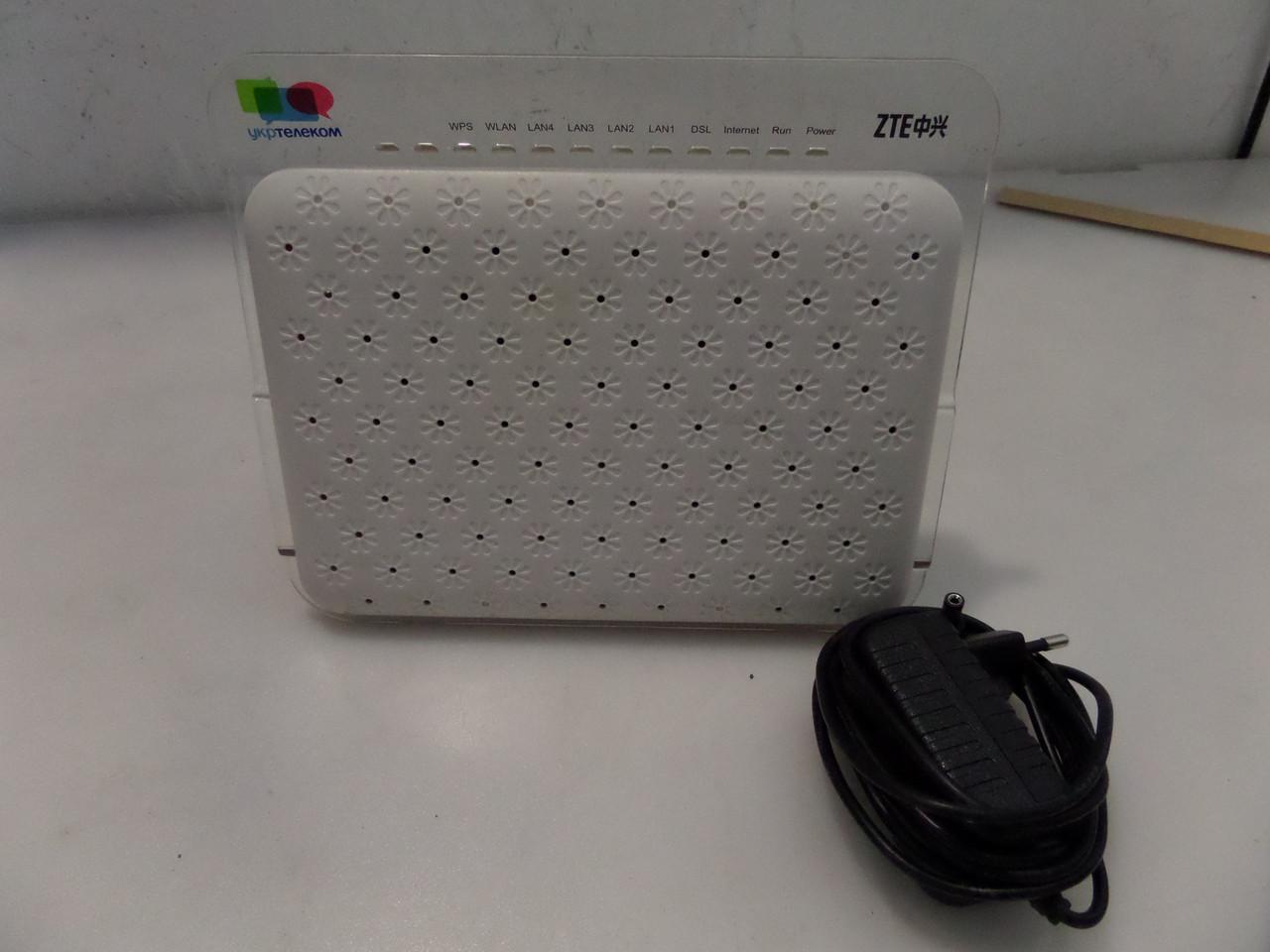 WiFi роутер от Укртелеком ZTE ZXV10 H108L