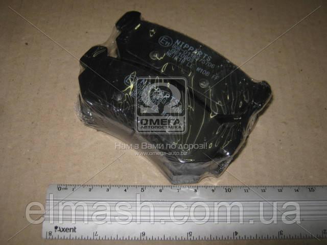 Колодки гальмівні дискові задні Chevrolet AVEO; LACETTI (пр-во Nipparts)