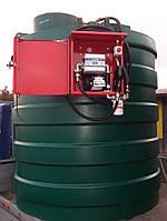 Резервуар Kingspan (Великобритания)  9000л с Заправочным модулем для перекачки дизтоплива
