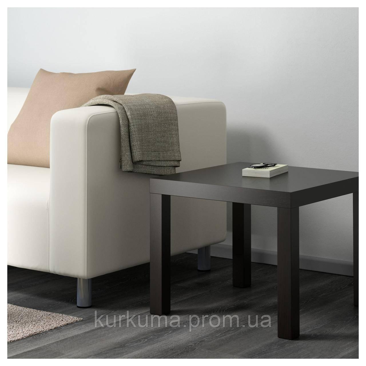 IKEA LACK Стол, черно-коричневый  (801.042.68)