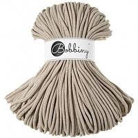 Шнур хлопковый Bobbiny 5 мм, цвет Бежевый