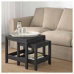 IKEA HAVSTA Стол 2 шт., темно-коричневый  (604.041.97), фото 6