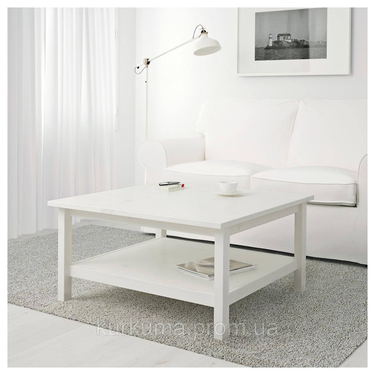 IKEA HEMNES Стол, белый окрашенный белый  (101.762.87)