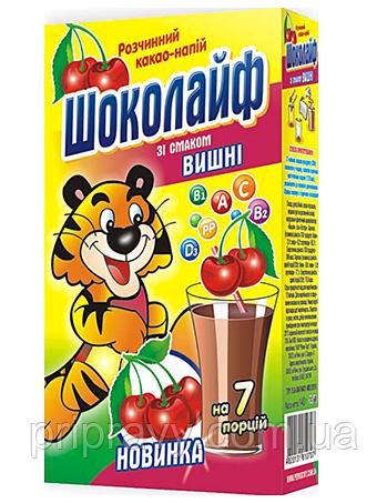 Какао-напиток со вкусом Вишни ТМ Шоколайф, 140 г