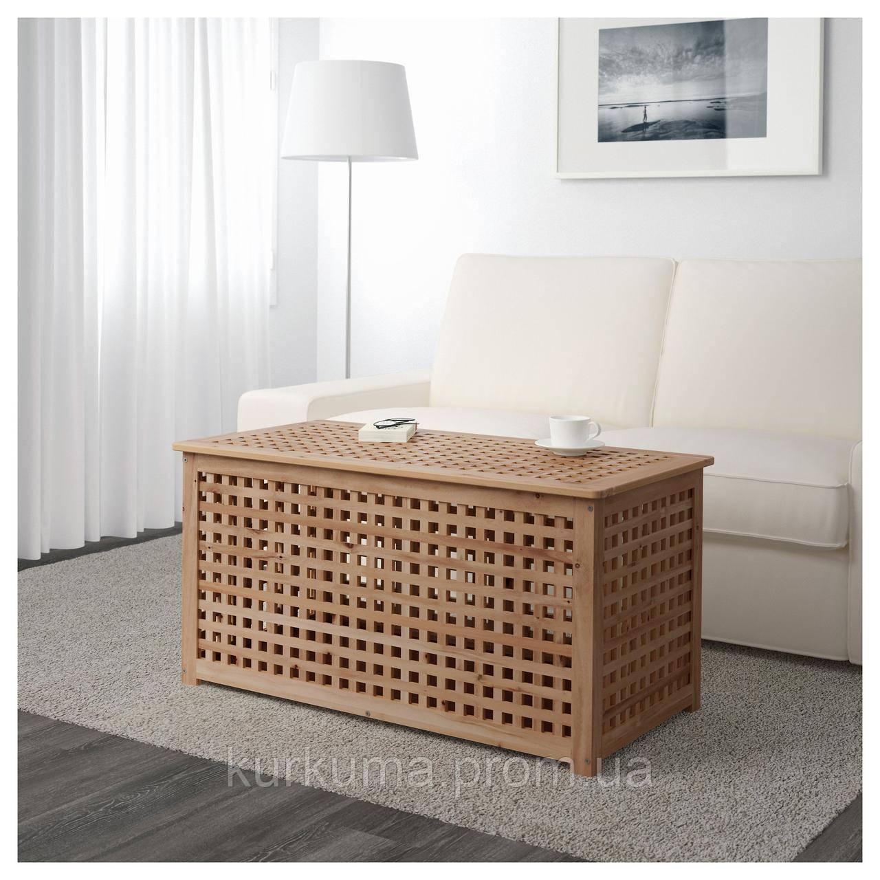 IKEA HOL Стол, Акация  (501.613.21)