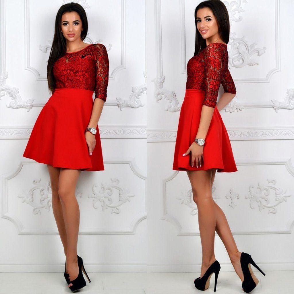 """Модное женское платье ткань """"Хлопок+Стрейч(костюмная)"""" верх с кружева 46 размер норма"""