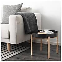 IKEA YPPERLIG Стол, темно-серый, береза  (903.465.92)
