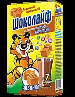 Какао-напиток со вкусом Молочной Карамели ТМ Шоколайф, 140 г