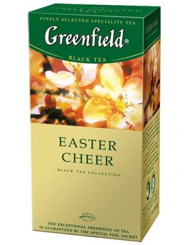 Чай черный с ванилью Greenfield Easter Cheer 25 пак.