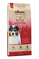Chicopee CNL Adult Active Chicken and Rice(Чикопай Эдалт Чикен енд Райс) - корм для активных собак 15 кг