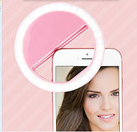Селфи кольцо, светодиодная лампа, вспышка, подсветка  для телефона Selfie Ring Light