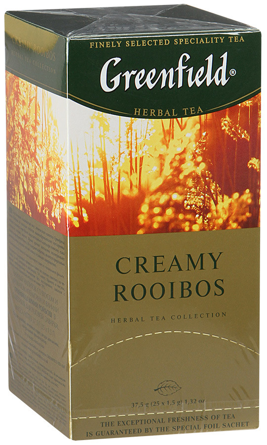 Чай травяной с ройбуш Greenfield Creamy Rooibos 25 пак.