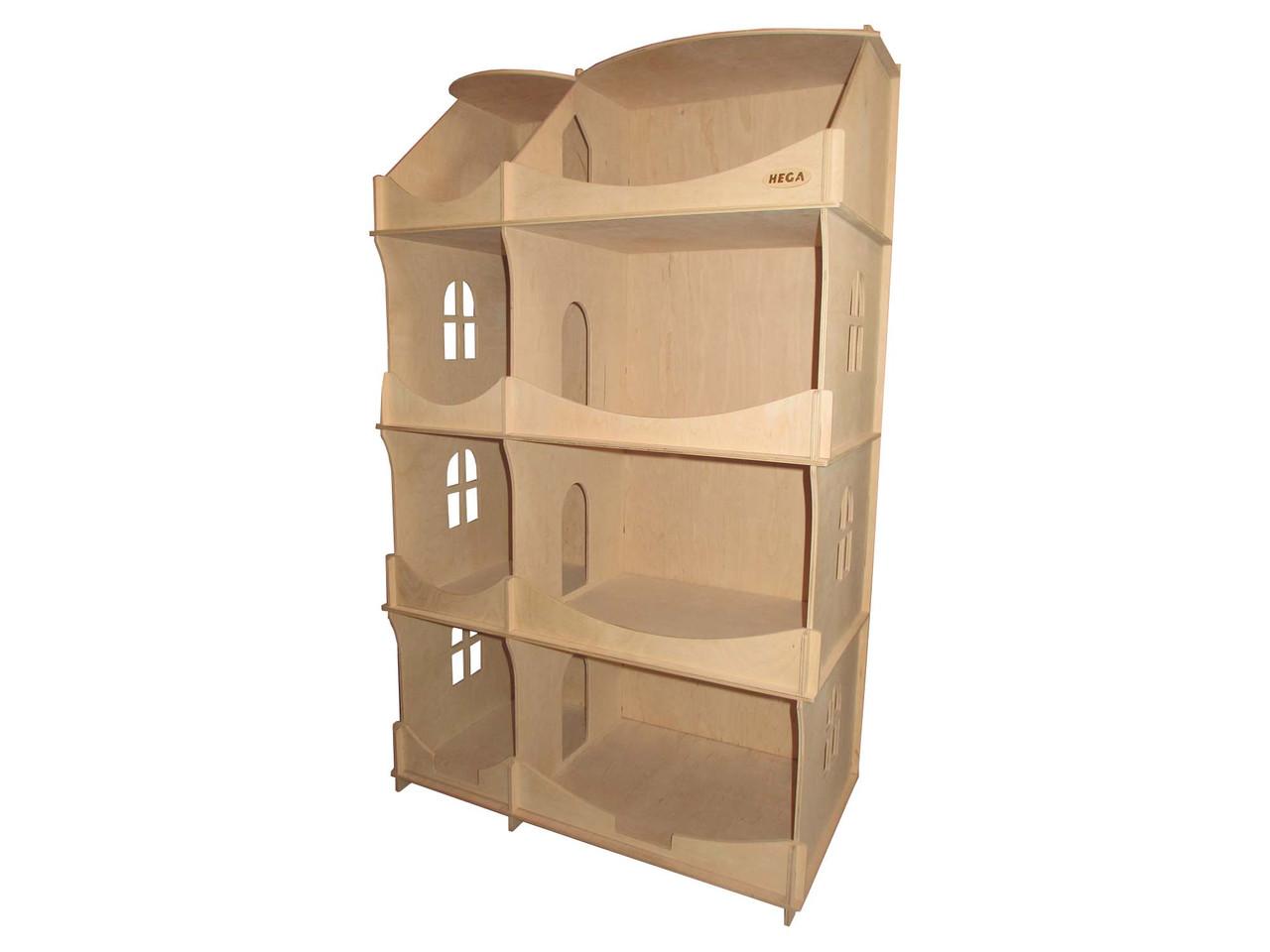 Будинок-шафа HEGA для творчості дерев`яний для іграшок і книжок